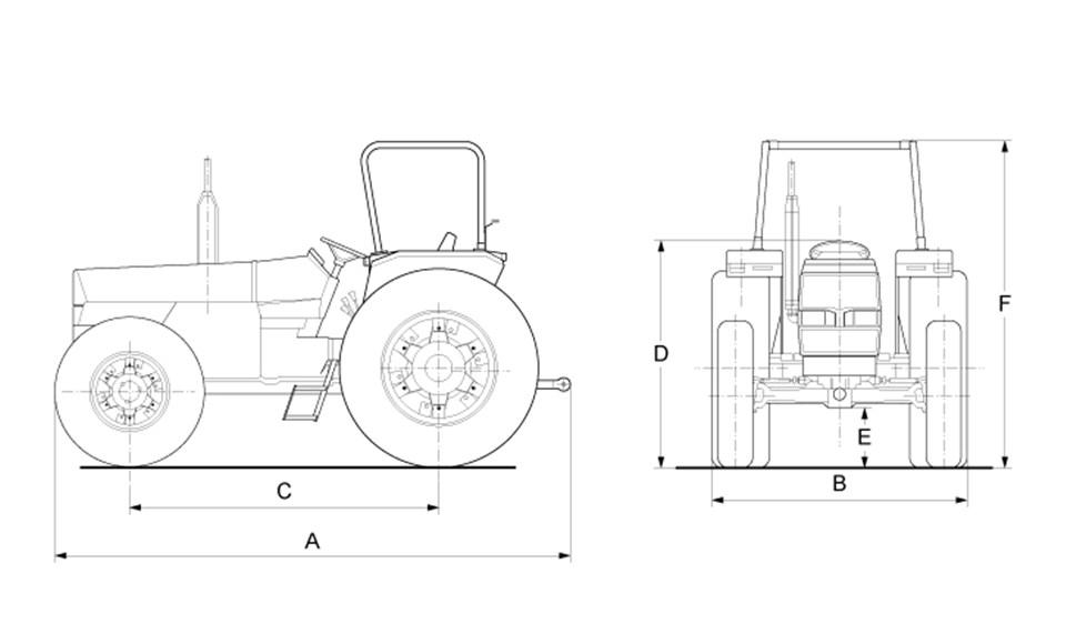 60 SERIES T2 DIMENSIONS